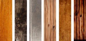 Sistema de banderas de madera fotografía de archivo