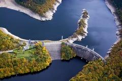 Sistema de barrera de Urft, Eifel, Alemania fotos de archivo