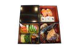 Sistema de Bento del japonés Fotografía de archivo