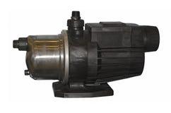 Sistema de bombeamento compacto do impulsionador da casa foto de stock royalty free