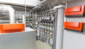 Sistema de calefacción moderno Foto de archivo libre de regalías