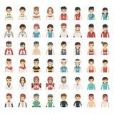 Sistema de caracteres del deporte Imagen de archivo libre de regalías