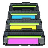 Sistema de cartuchos de tinta del laser del color, representación 3D libre illustration