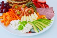 Sistema de cena sano imagen de archivo libre de regalías