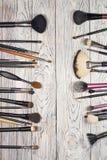 Sistema de cepillo Fotografía de archivo