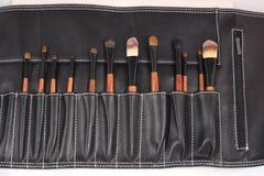 Sistema de cepillos del maquillaje Imagenes de archivo