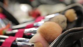 Sistema de cepillos del maquillaje metrajes