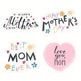 Sistema de citas del día de madres libre illustration