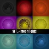 Sistema de claro de luna libre illustration