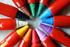 sistema de colores Fotos de archivo
