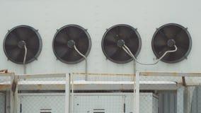 Sistema de condicionamento de ar industrial vídeos de arquivo