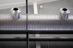 Sistema de condicionamento de ar Imagens de Stock Royalty Free