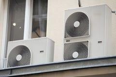 Sistema de condicionamento de ar Foto de Stock Royalty Free