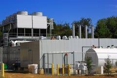 Sistema de condicionamento de ar da ventilação do aquecimento Fotografia de Stock Royalty Free