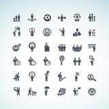 Sistema de iconos del concepto del negocio libre illustration