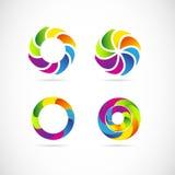 Sistema de Corporate Logo Foto de archivo libre de regalías