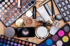 Sistema de cosméticos profesionales Fotos de archivo