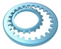 Sistema de cristal de la rueda dentada Fotografía de archivo