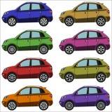 Sistema de cruces de los coches Imagen de archivo libre de regalías