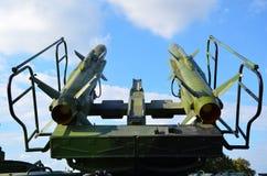 Sistema de defensa anti de los aviones fotografía de archivo libre de regalías
