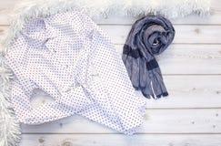 Sistema de diversos ropa y accesorios para los hombres Fotografía de archivo libre de regalías
