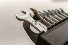 Sistema de DIY de las llaves inglesas caseras Imágenes de archivo libres de regalías