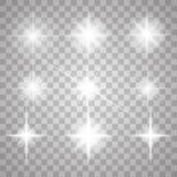 Sistema de efectos luminosos Fotos de archivo libres de regalías