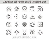 Sistema de elemento geométrico Fotos de archivo libres de regalías