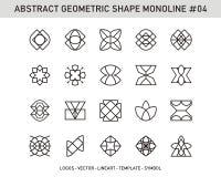 Sistema de elemento geométrico Foto de archivo libre de regalías