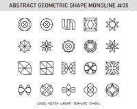 Sistema de elemento geométrico Imagen de archivo
