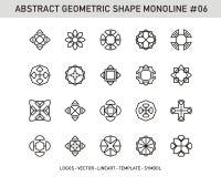 Sistema de elemento geométrico Fotografía de archivo libre de regalías