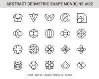 Sistema de elemento geométrico Fotografía de archivo