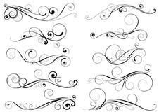 Sistema de elementos del diseño del remolino