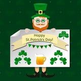 Sistema de elementos del diseño del vector del día del ` s de St Patrick Fotos de archivo libres de regalías