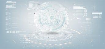 Sistema de elementos infographic blancos y negros libre illustration