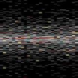 Sistema de elementos de la interferencia Plantillas del error de la pantalla de ordenador Diseño del extracto del ruido del pixel libre illustration