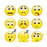 Sistema de emociones, vector libre illustration