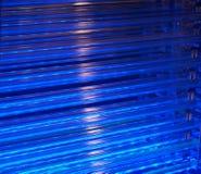Sistema de enfriamiento azul Fotografía de archivo