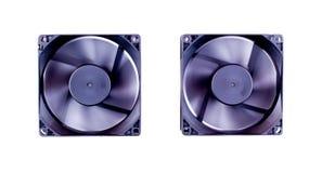 Sistema de enfriamiento del ordenador Fotos de archivo libres de regalías