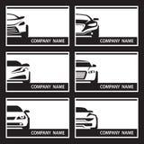 Sistema de etiquetas del coche Foto de archivo libre de regalías