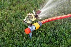 Sistema de extinção de incêndios do gramado Imagem de Stock