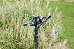 Sistema de extinção de incêndios do gramado e sistema de irrigação Imagens de Stock Royalty Free
