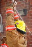 Sistema de extinção de incêndios do incêndio imagens de stock