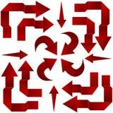 Sistema de flechas. Imagen de archivo libre de regalías