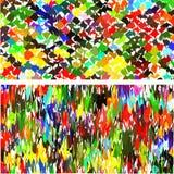Sistema de fondo colorido brillante abstracto Imagen de archivo