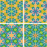 Sistema de fondo colorido inconsútil del abstrack Imagen de archivo