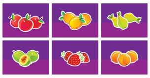 Sistema de fruta Fotografía de archivo libre de regalías