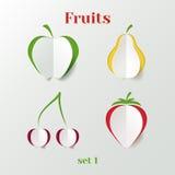 Sistema de frutas libre illustration