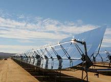 Sistema de geração elétrico solar Imagens de Stock Royalty Free
