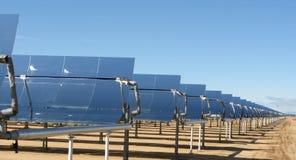 Sistema de geração elétrico solar Califórnia Imagens de Stock Royalty Free